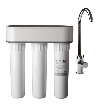 filtre eau doulton trio sous vier anti nitrate et calcaire. Black Bedroom Furniture Sets. Home Design Ideas
