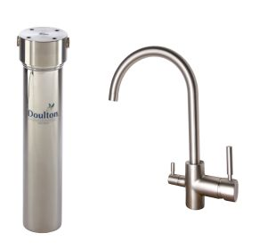 [PACK] Purificateur d'eau Doulton HIS + Mitigeur 3 voies CONTEMPORAIN satiné